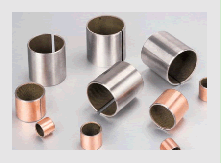 Steel Bearings with Oil Grooves