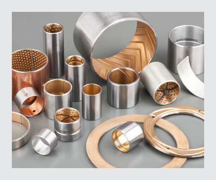 Bronze Alloy Bearings with Oil Grooves
